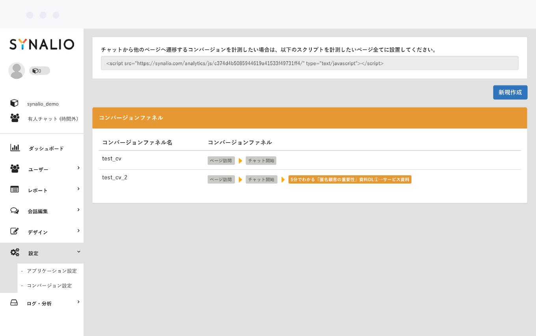 コンバージョンファネル分析